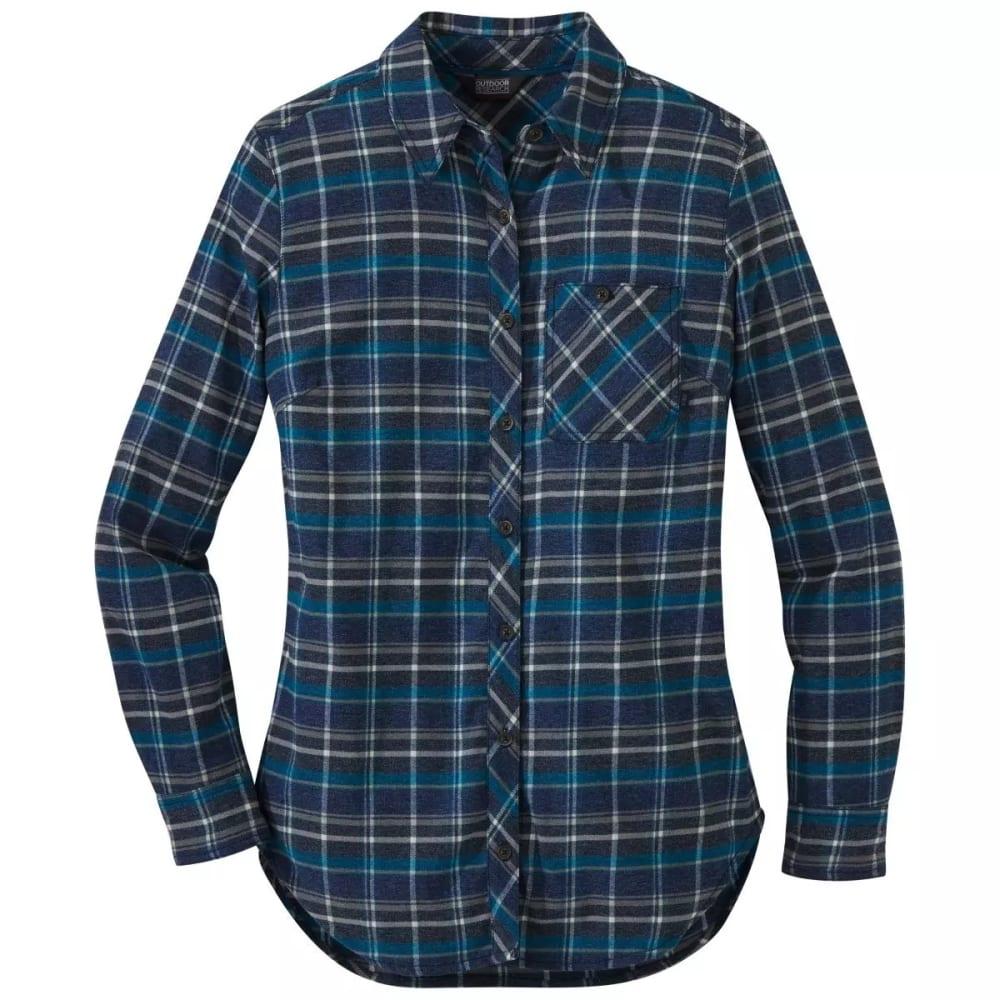 OUTDOOR RESEARCH Women's Kulshan Flannel Tunic Shirt S