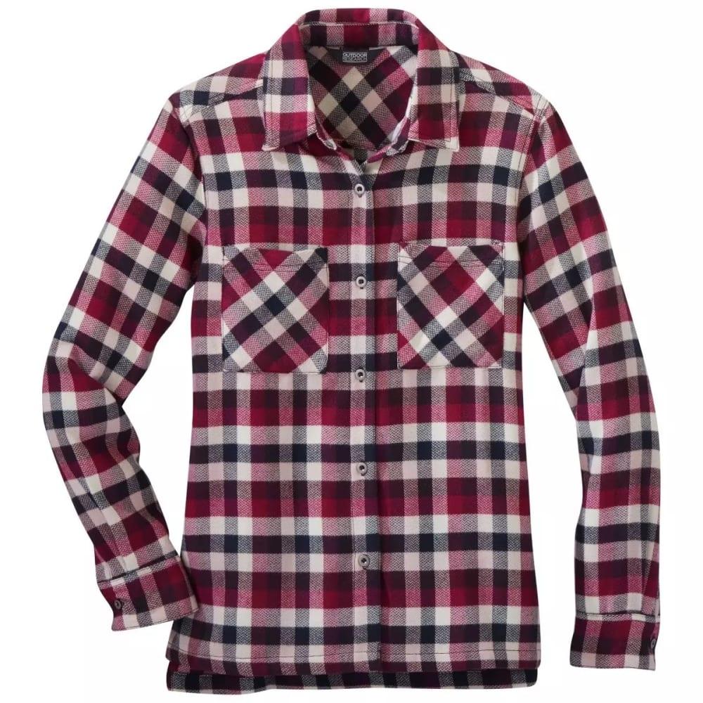 OUTDOOR RESEARCH Women's Feedback Flannel Shirt XS