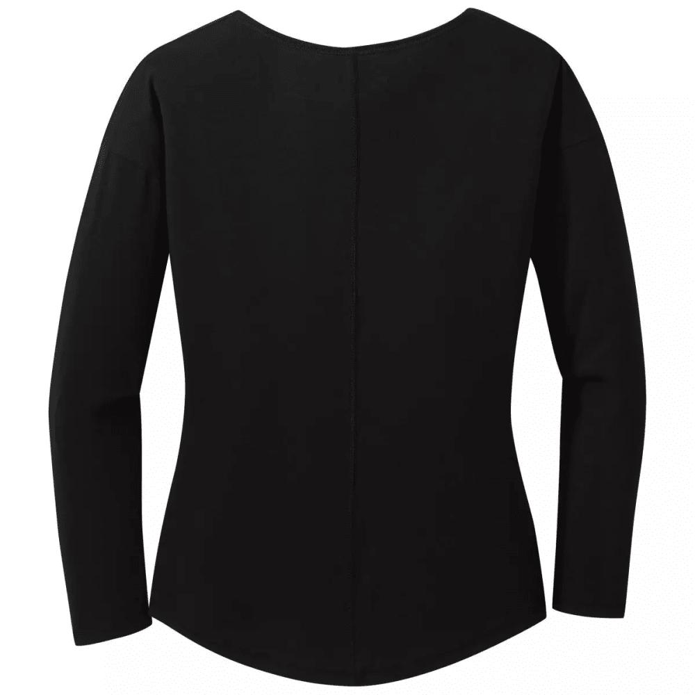 OUTDOOR RESEARCH Women's Long-Sleeve Westport Shirt - BLACK - 0001