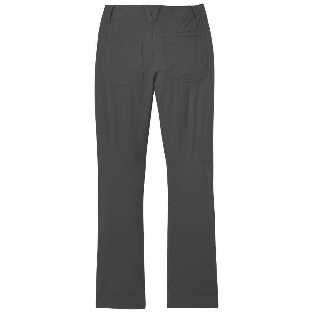 OUTDOOR RESEARCH Women's Voodoo Pants, Short - CHARCOAL - 0890