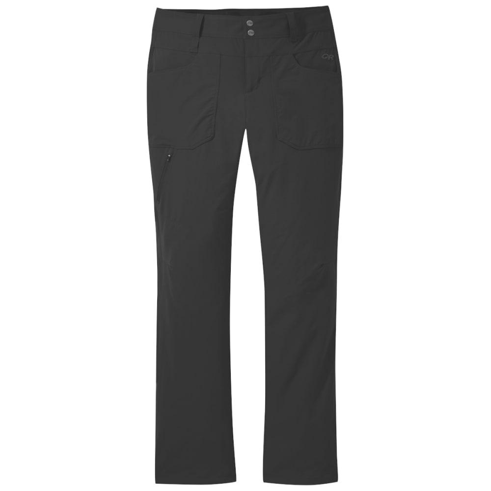 OUTDOOR RESEARCH Women's Voodoo Pants, Regular fit - BLACK - 0001