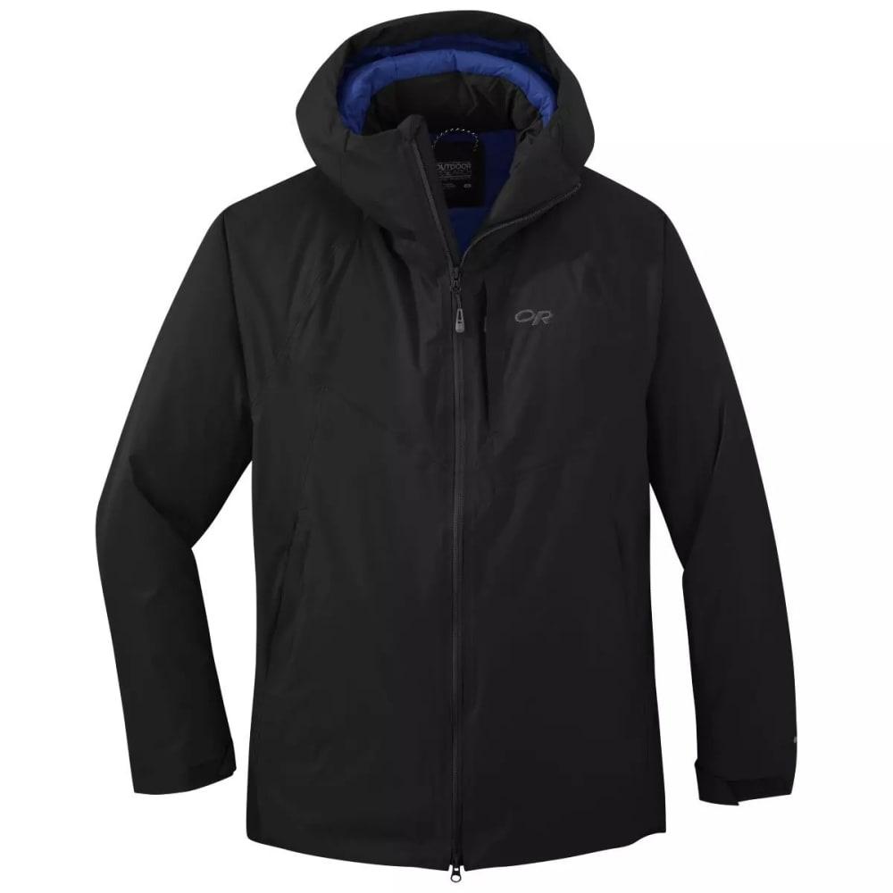 OUTDOOR RESEARCH Men's Floodlight II Down Jacket - BLACK - 0001
