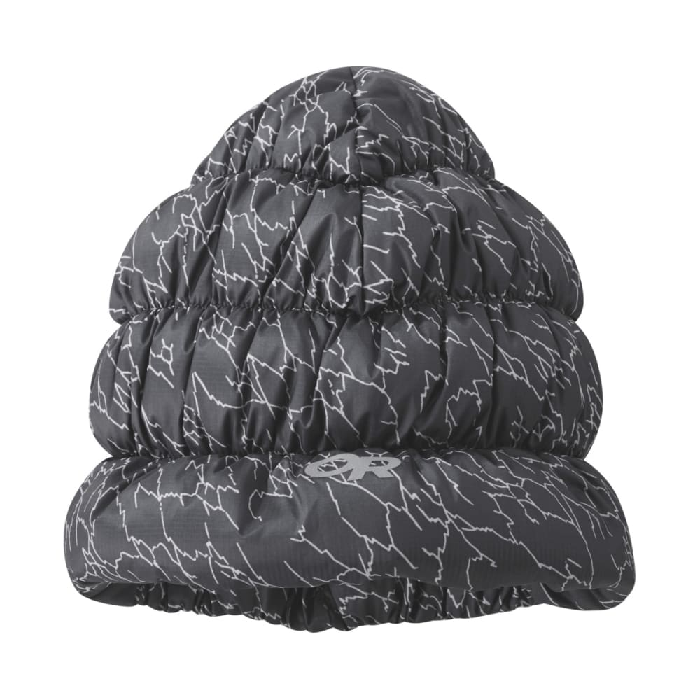 OUTDOOR RESEARCH Transcendent Down Beanie, Printed - STORM PRINT - 1621