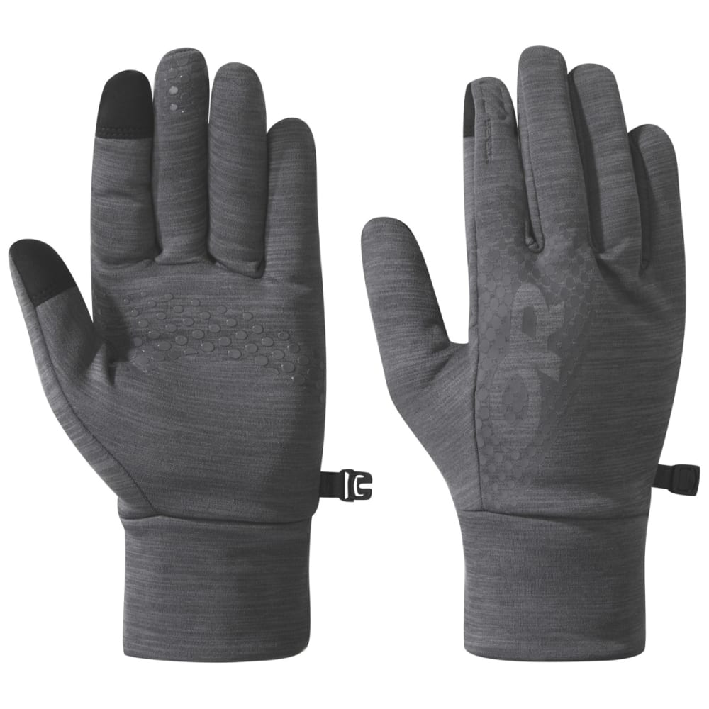 OUTDOOR RESEARCH Men's Vigor Midweight Sensor Gloves - CHARCOAL HEATHE-0893