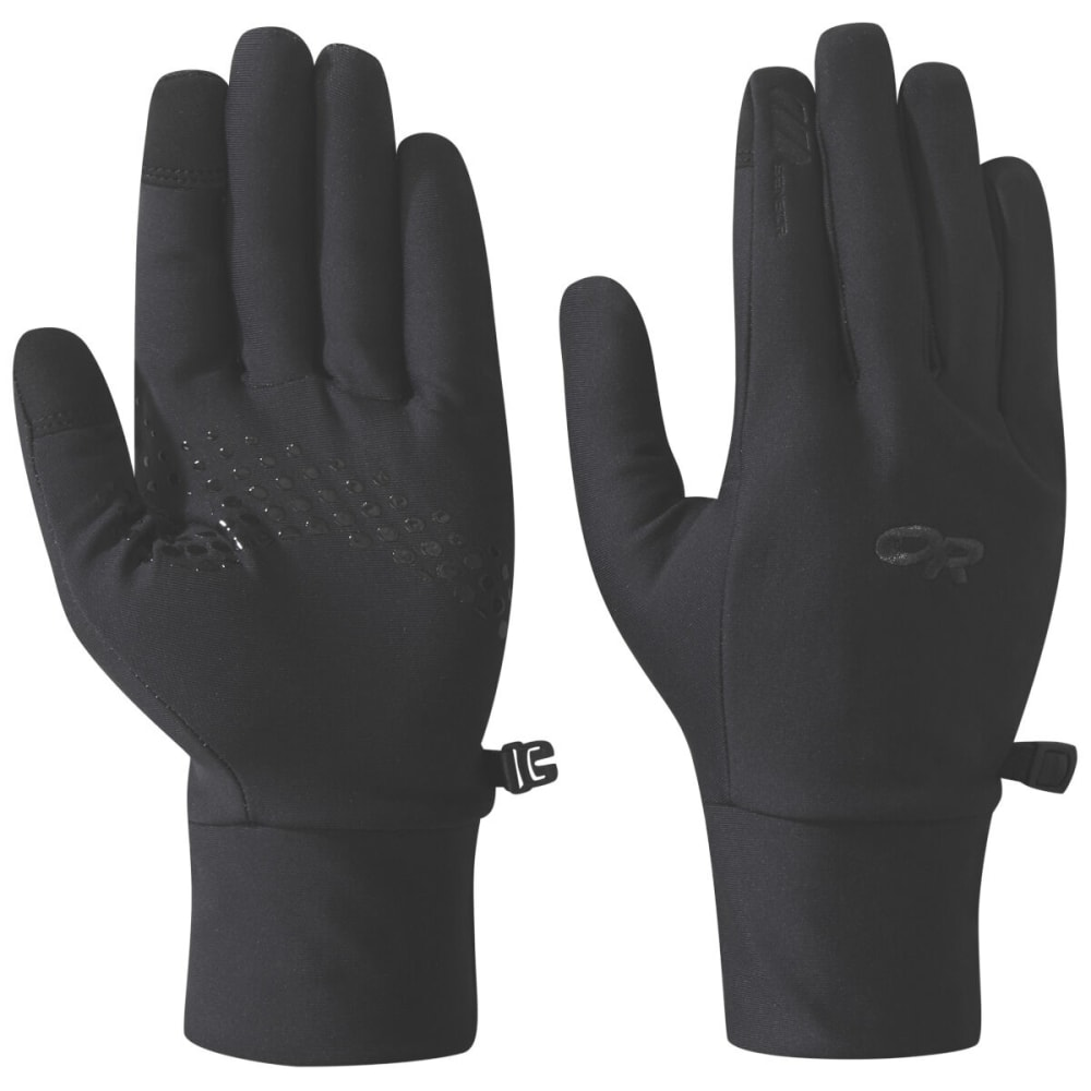 OUTDOOR RESEARCH Men's Vigor Lightweight Sensor Gloves - BLACK - 0001