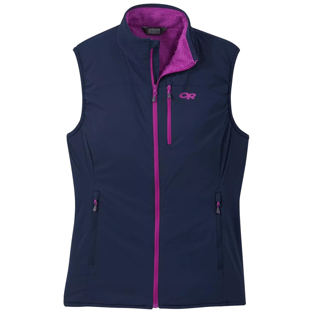 OUTDOOR RESEARCH Women's Ascendant Vest - NIGHT/ULTRAVIOL-0636