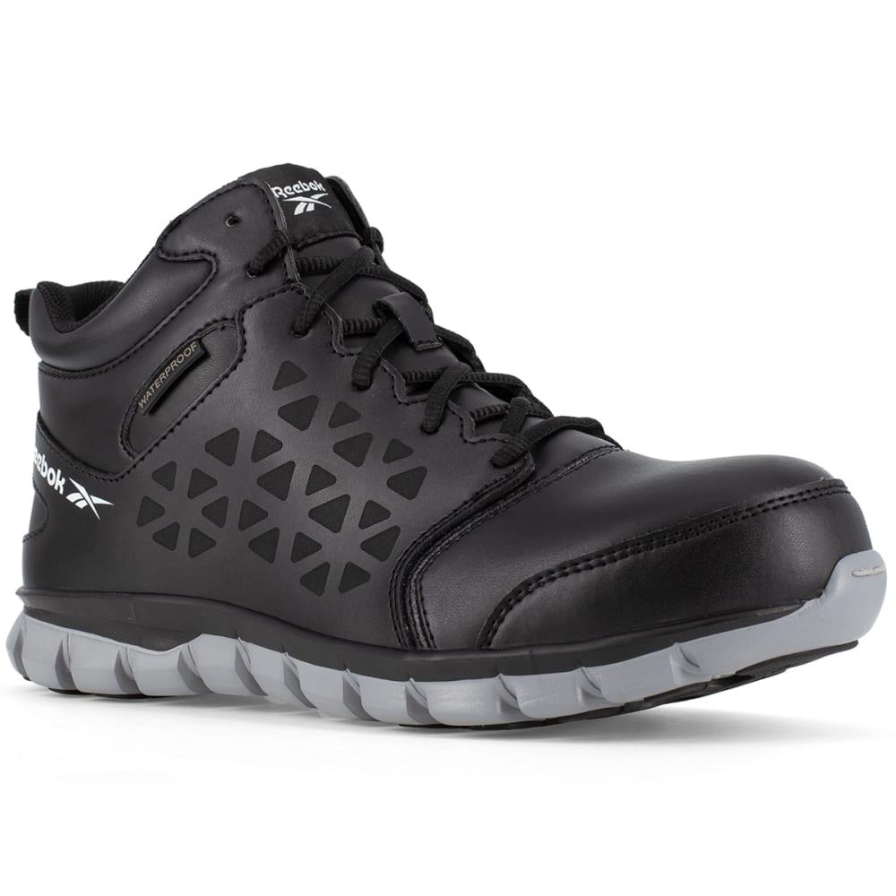 REEBOK Men's Sublite Waterproof Work Boot - BLACK