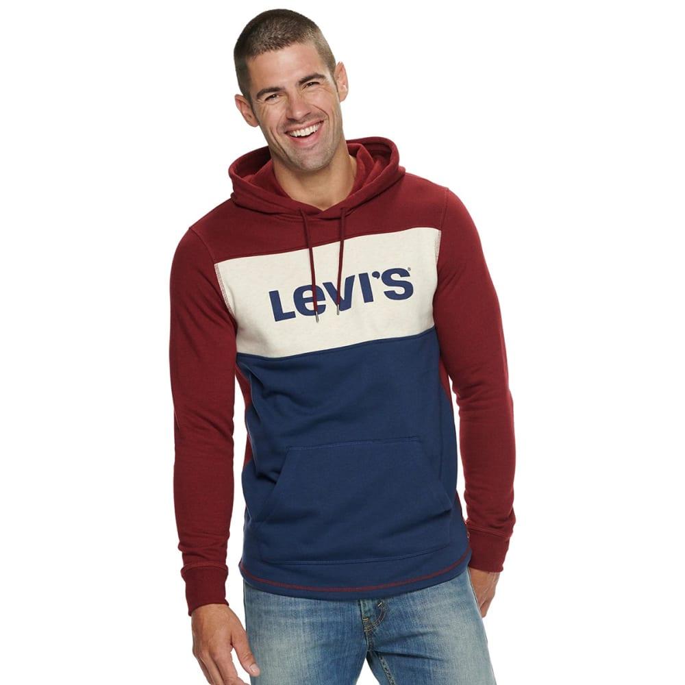 LEVI'S Men's Bilco Fleece Pullover Hoodie S