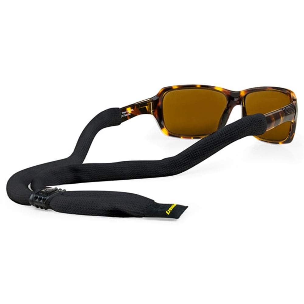 CROAKIES XL Suiters Eyewear Retainer - BLACK