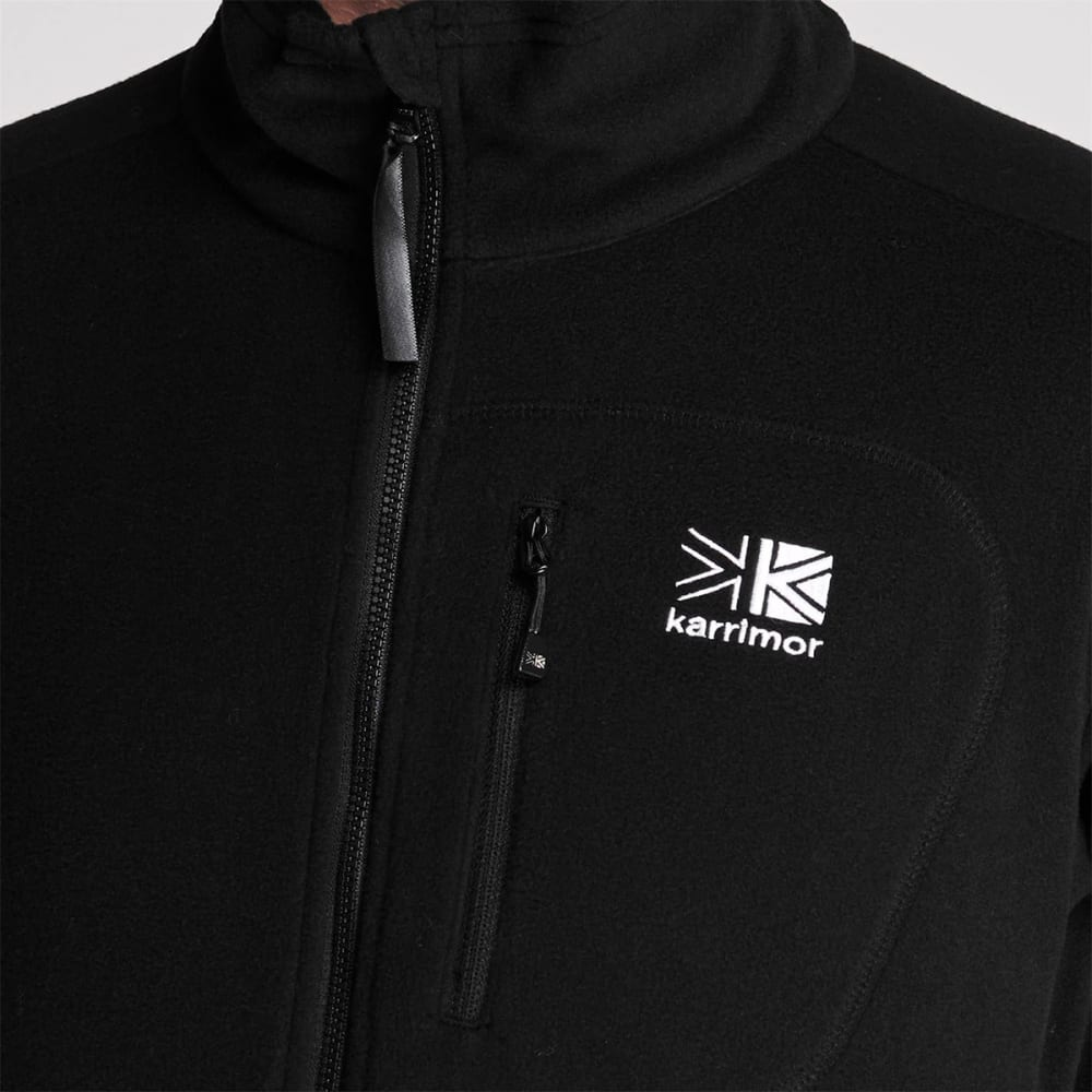 KARRIMOR Men's Full Zip Jacket - BLACK