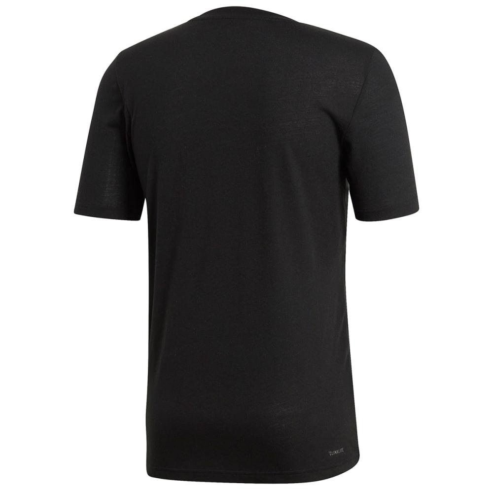 ADIDAS Men's Designed 2 Move Climalite Short-Sleeve Tee - BLACK-EI5655