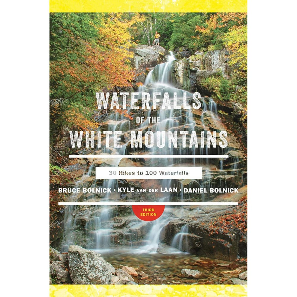 LIBERTY MOUNTAIN Waterfalls of the White Mountains Guide Book, 3rd Edition - NO COLOR