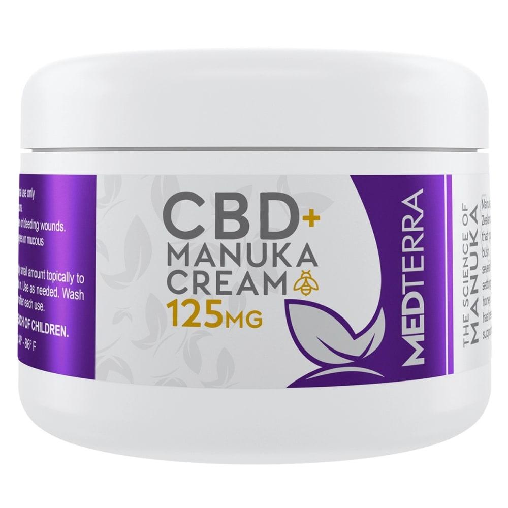 MEDTERRA 125 mg CBD Manuka Healing Cream, 1 oz. ONE SIZE