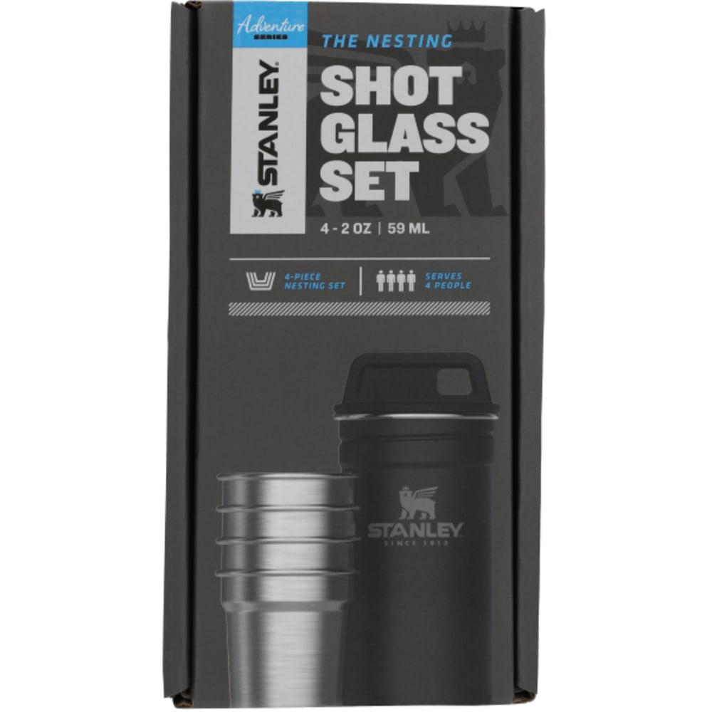 STANLEY Adventure Stainless Steel 2oz. Nestling Shot Glass Set - MATTE BLACK