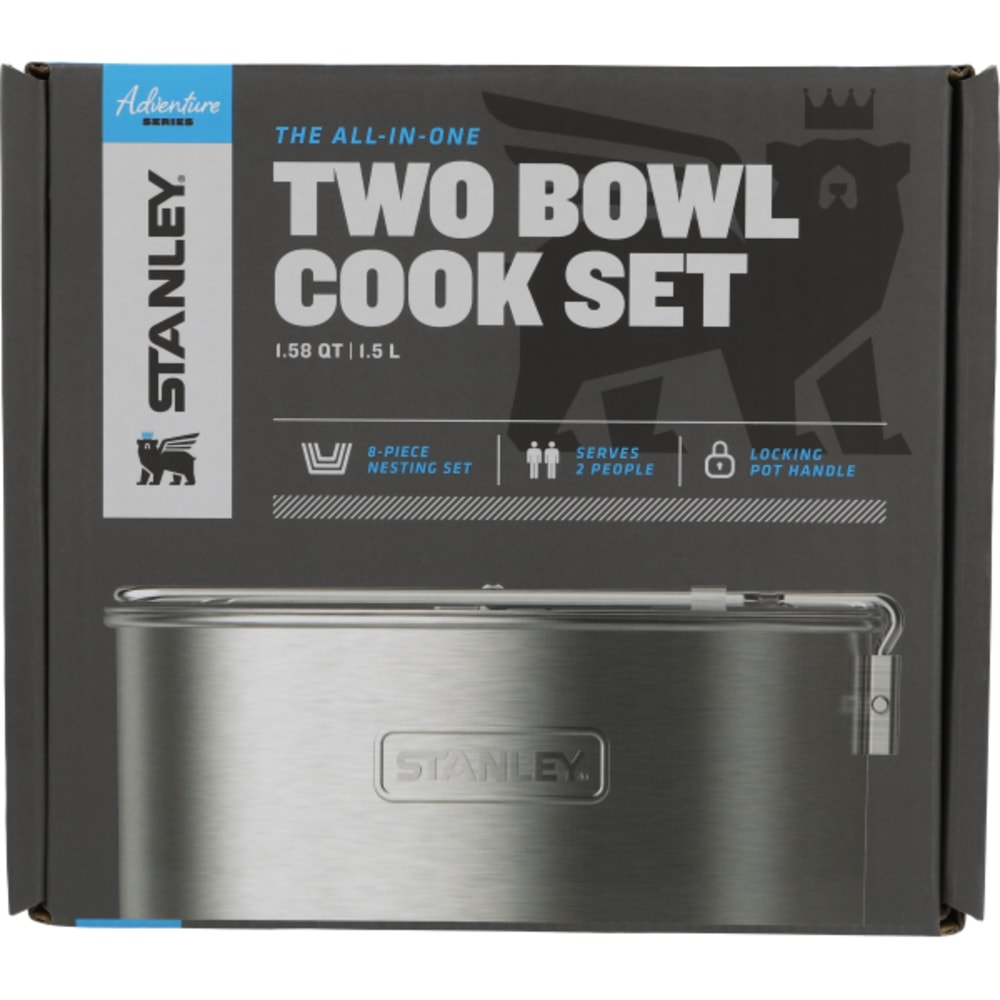 STANLEY Adventure All-in-One Two Bowl Cook Set - STAINLESS