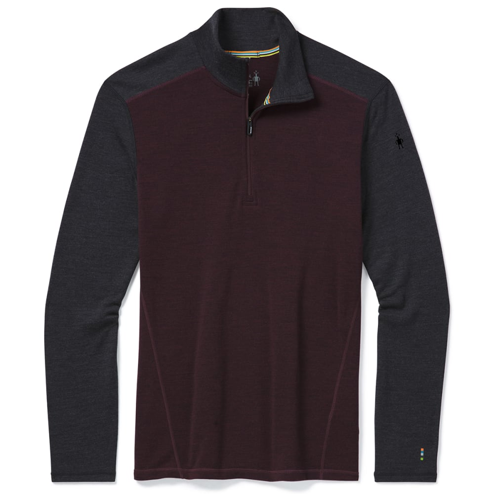 SMARTWOOL Men's Merino 250 Base Layer 1/4-Zip Pullover S