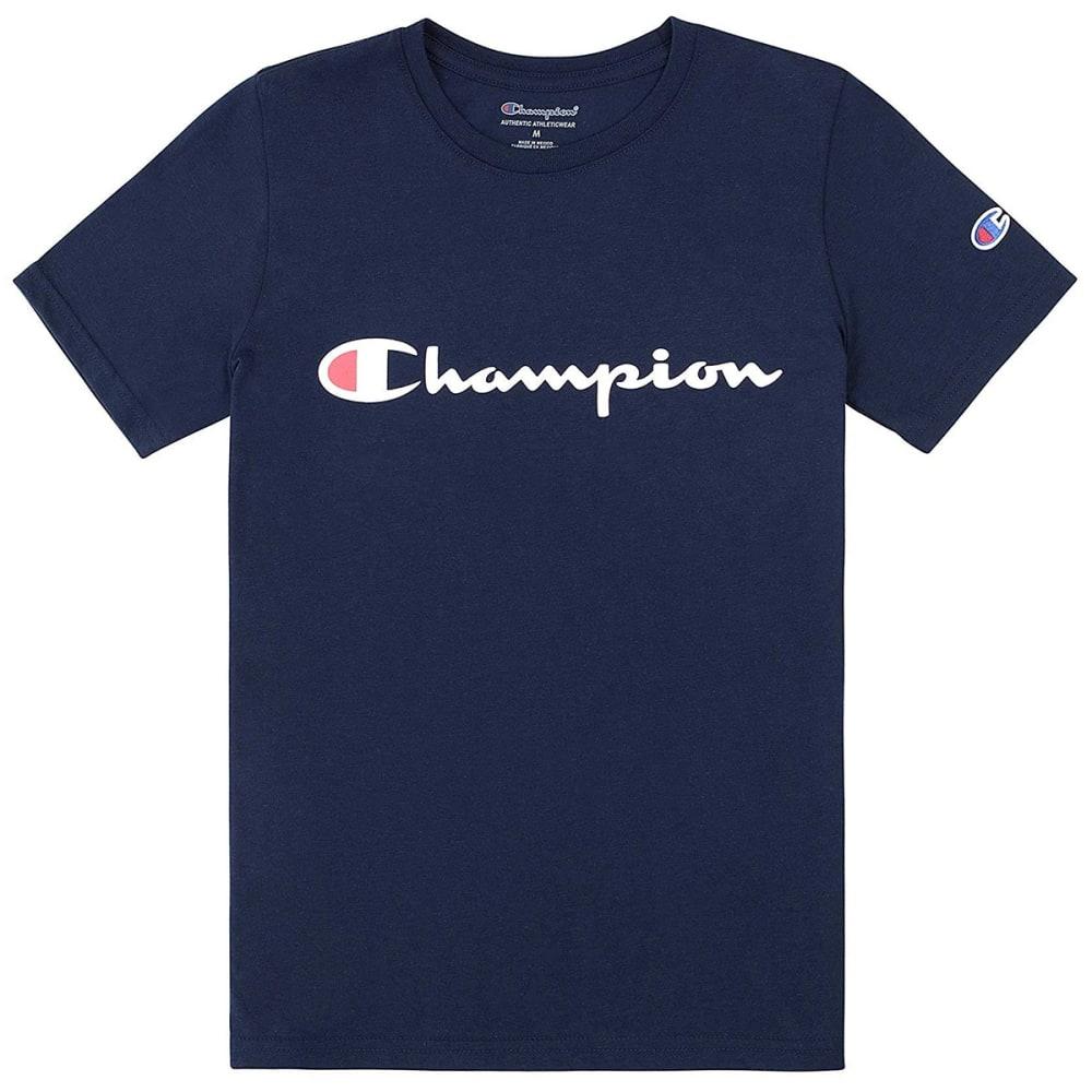 CHAMPION Boys' 8-20 Short-Sleeve Signature Graphic Tee S