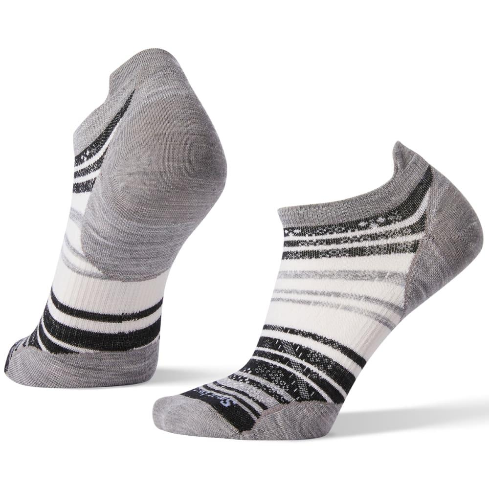 SMARTWOOL Women's PhD Run Ultra Light Striped Micro Socks S
