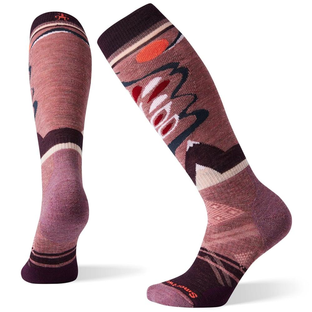 SMARTWOOL Women's PhD Ski Medium Pattern Socks L