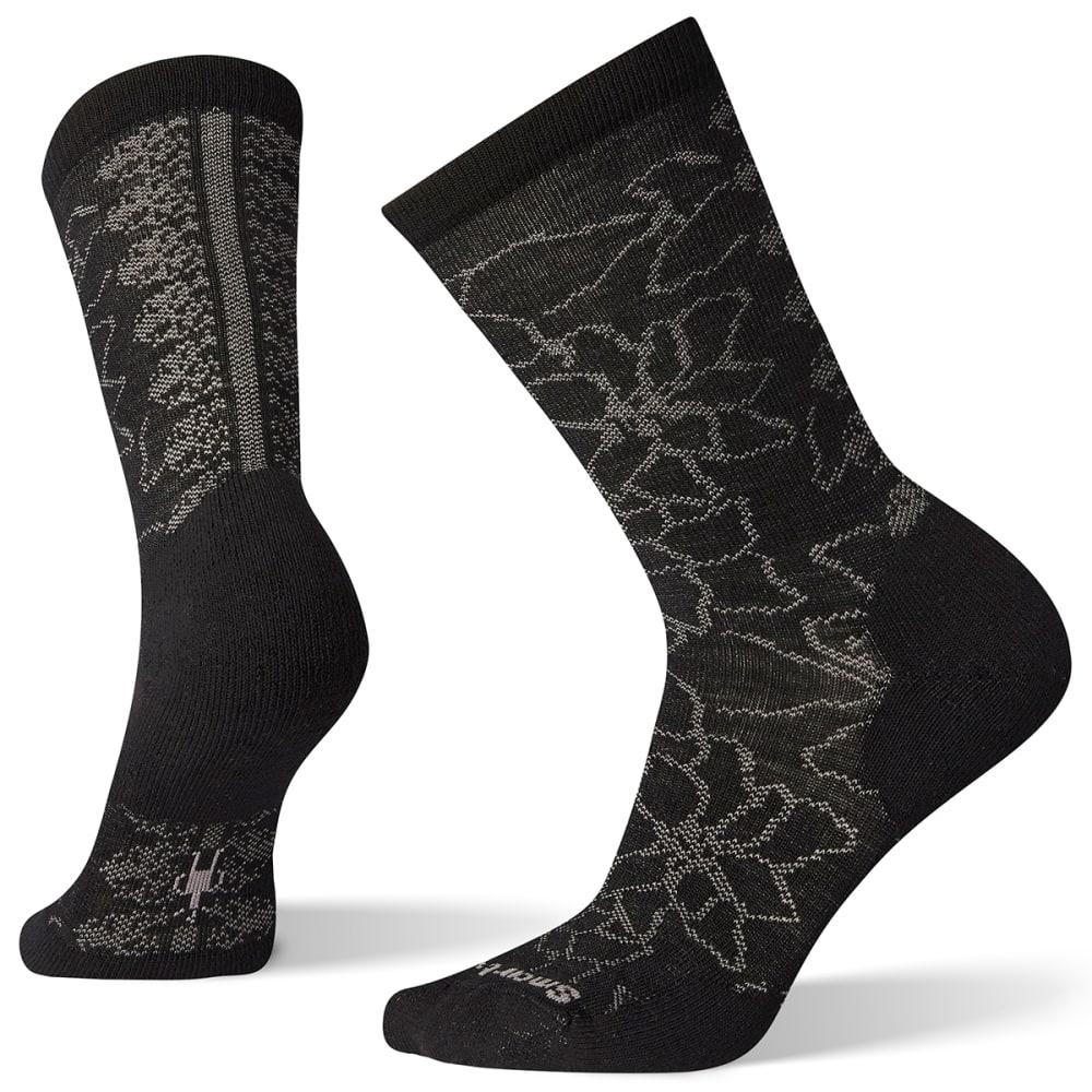 SMARTWOOL Women's Poinsettia Graphic Crew Socks S