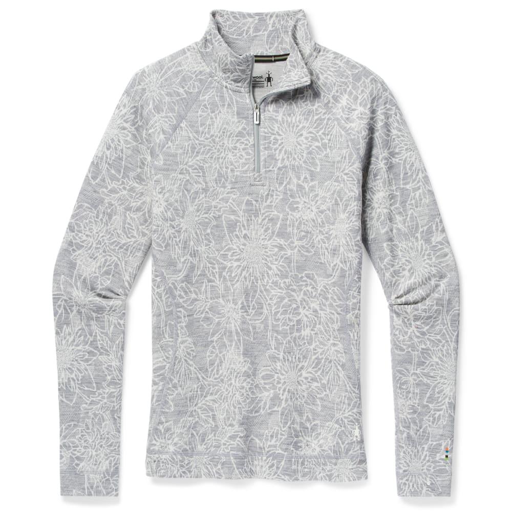 SMARTWOOL Women's Merino 250 Base Layer Pattern 1/4 Zip Pullover XS
