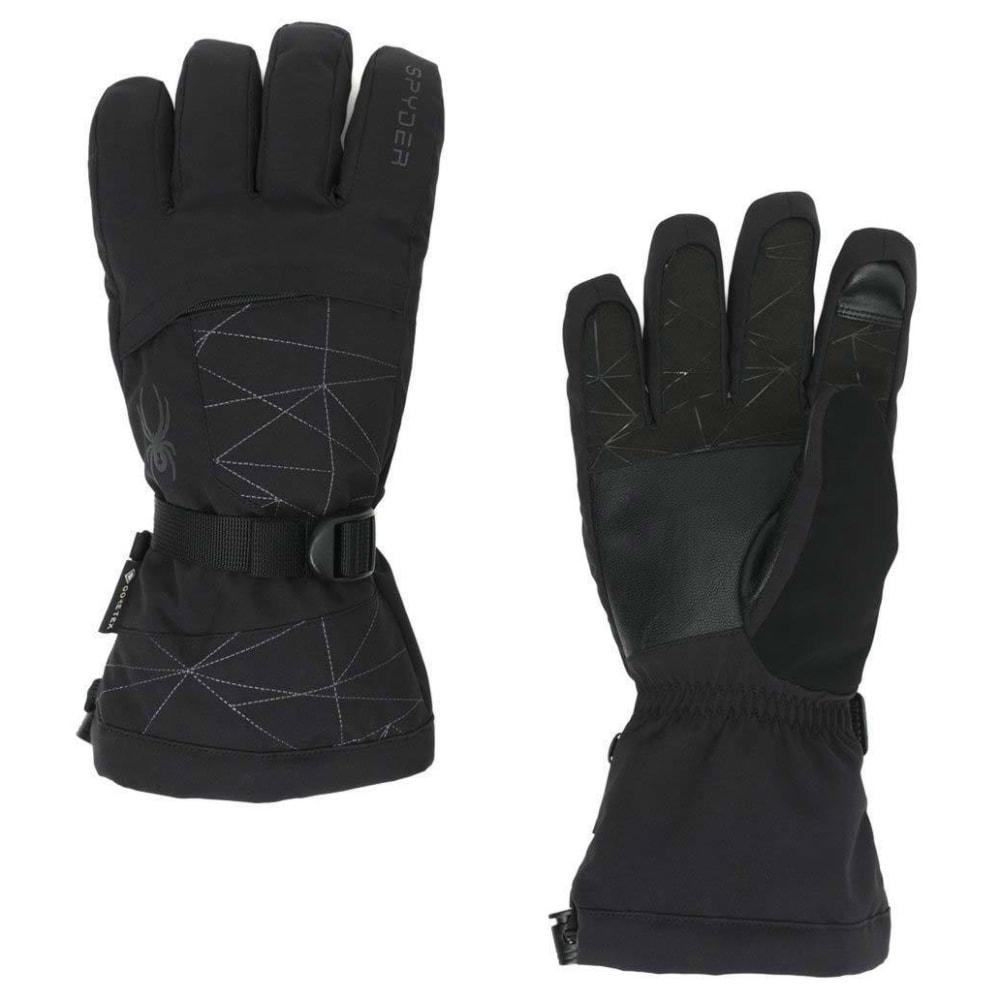SPYDER Men's Overweb GORE-TEX Ski Gloves - BLACK