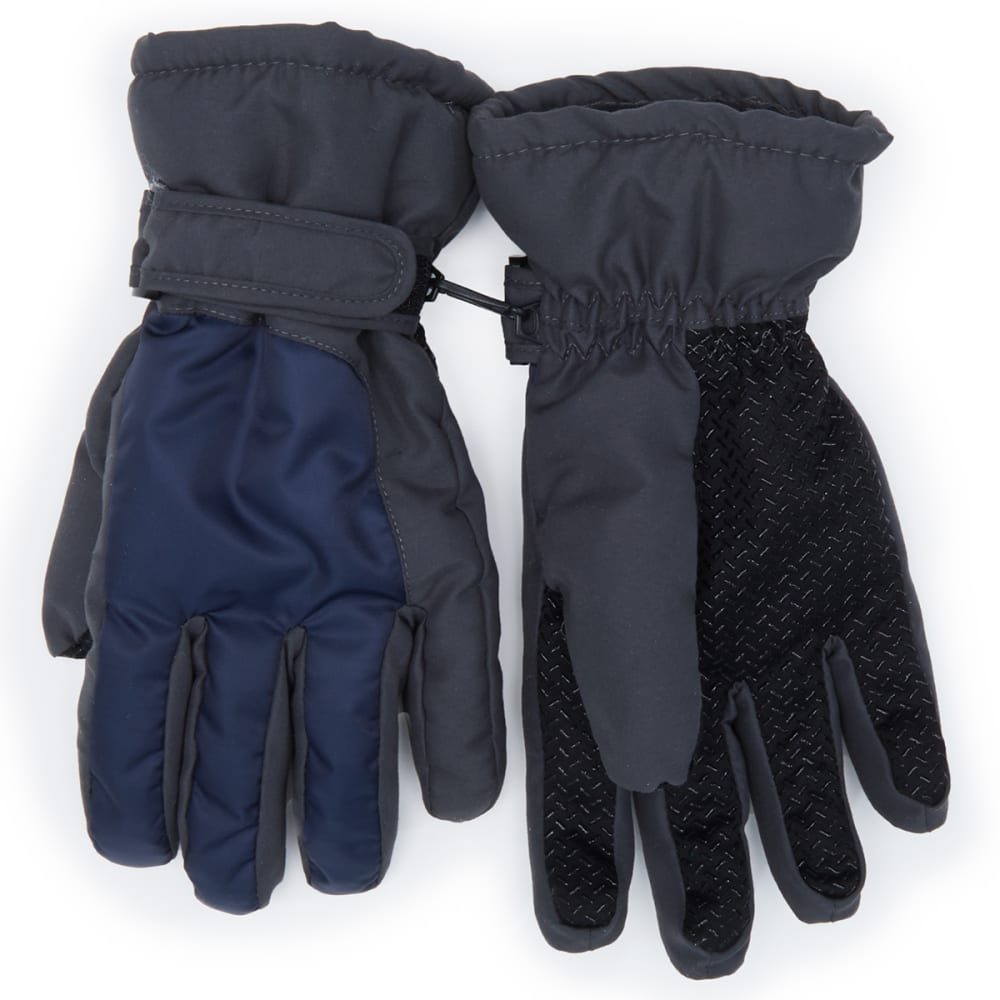 NOLAN Boys' Ski Gloves - NAVY