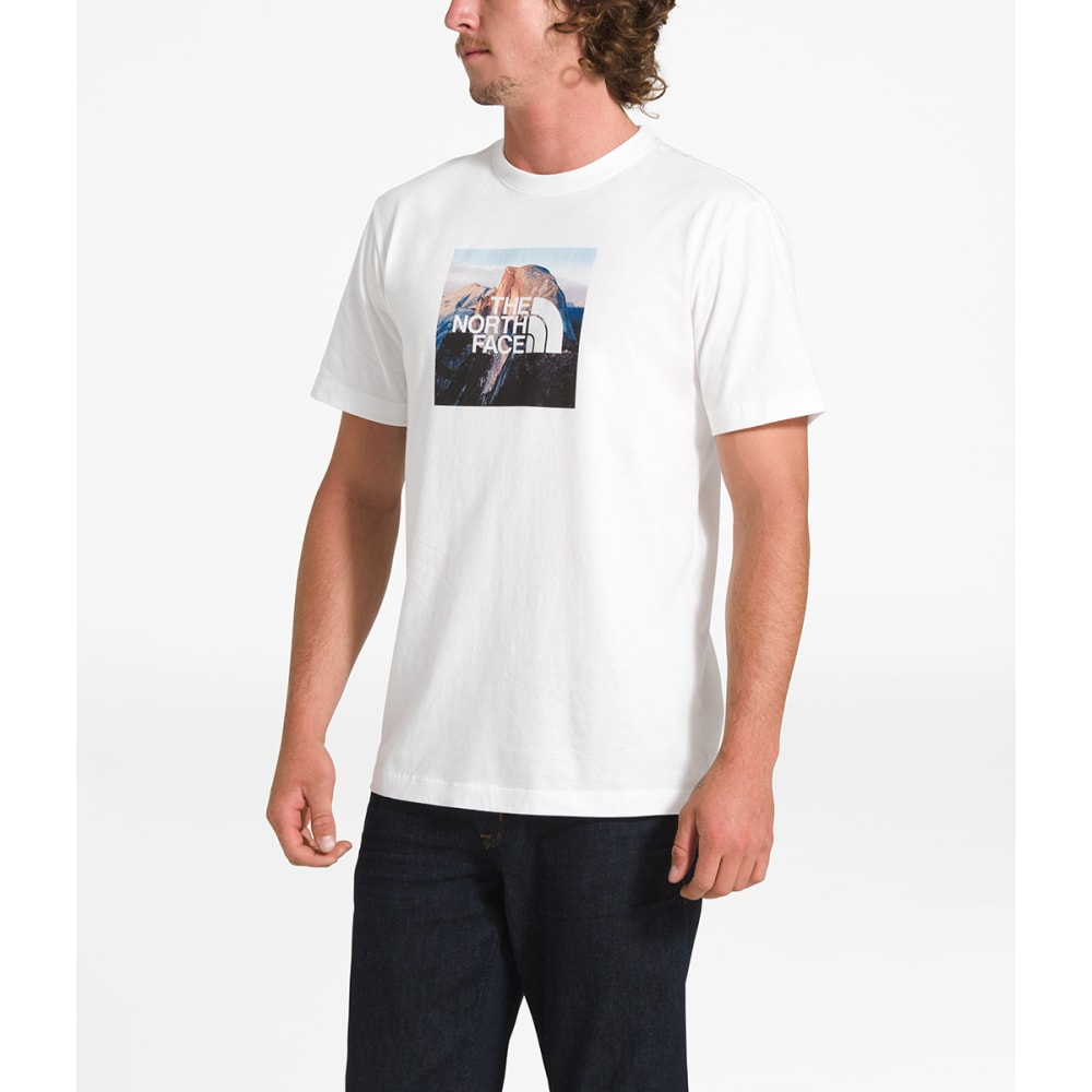 THE NORTH FACE Men's Short-Sleeve Clean Ascent Tee - THF WHITE