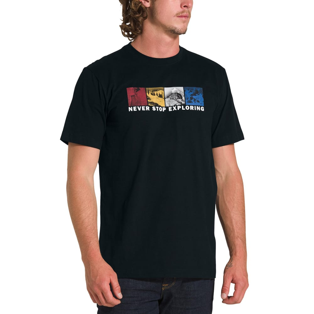 THE NORTH FACE Men's Free Solo Half Dome Short-Sleeve Tee - TNF BLACK