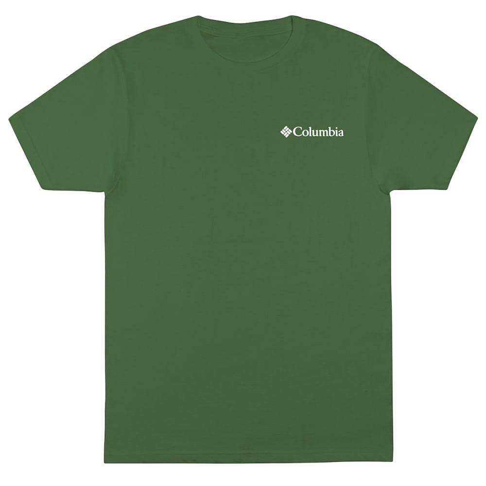 COLUMBIA Men's Backcountry Short-Sleeve Graphic Tee - DARK BACKCOUNTRY F&B