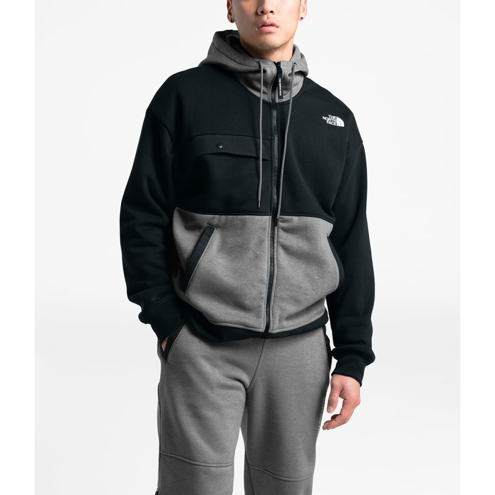 THE NORTH FACE Men's Graphic Collection Full-Zip Hoodie - TNF MEDIUM GREY HEAT
