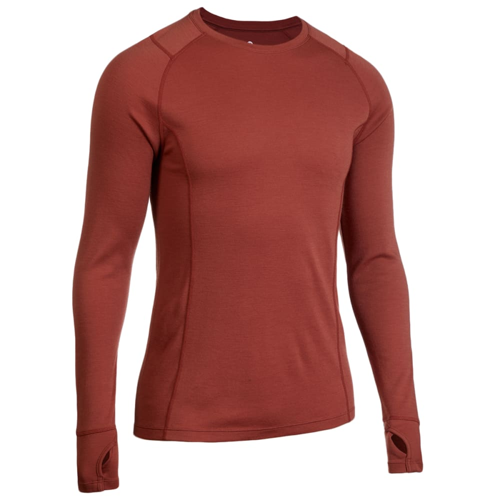 EMS Men's Merino Wool Base Layer Crew Neck Pullover 2XL