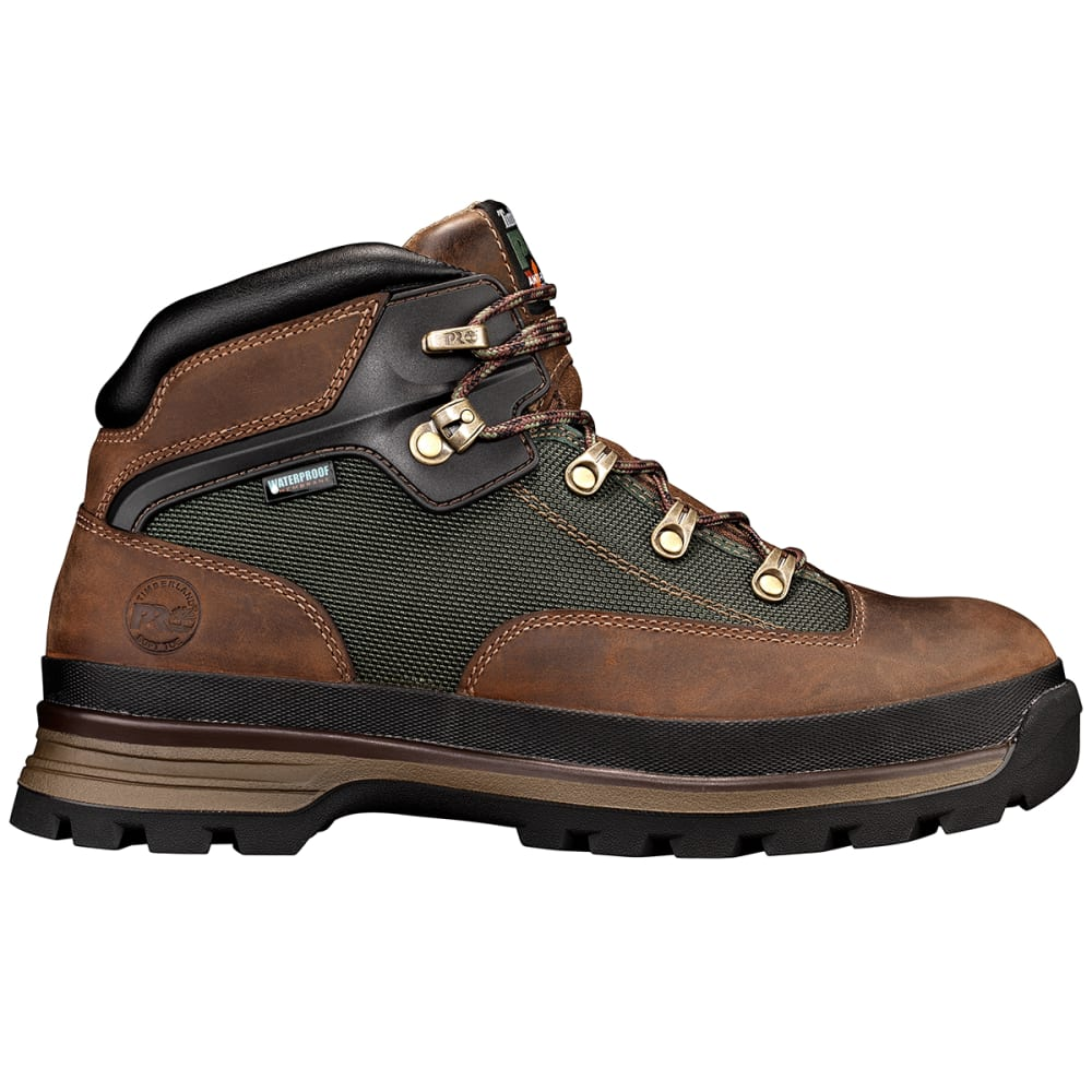 TIMBERLAND PRO Men's Euro Hiker Waterproof Work Boot - 214 BROWN