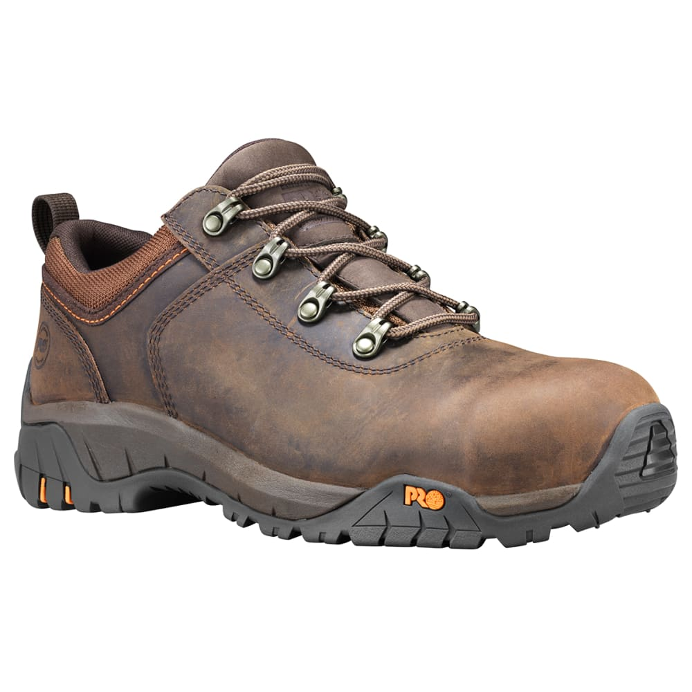 TIMBERLAND PRO Men's Outroader Composite Toe Work Boots, Wide - 214 BROWN
