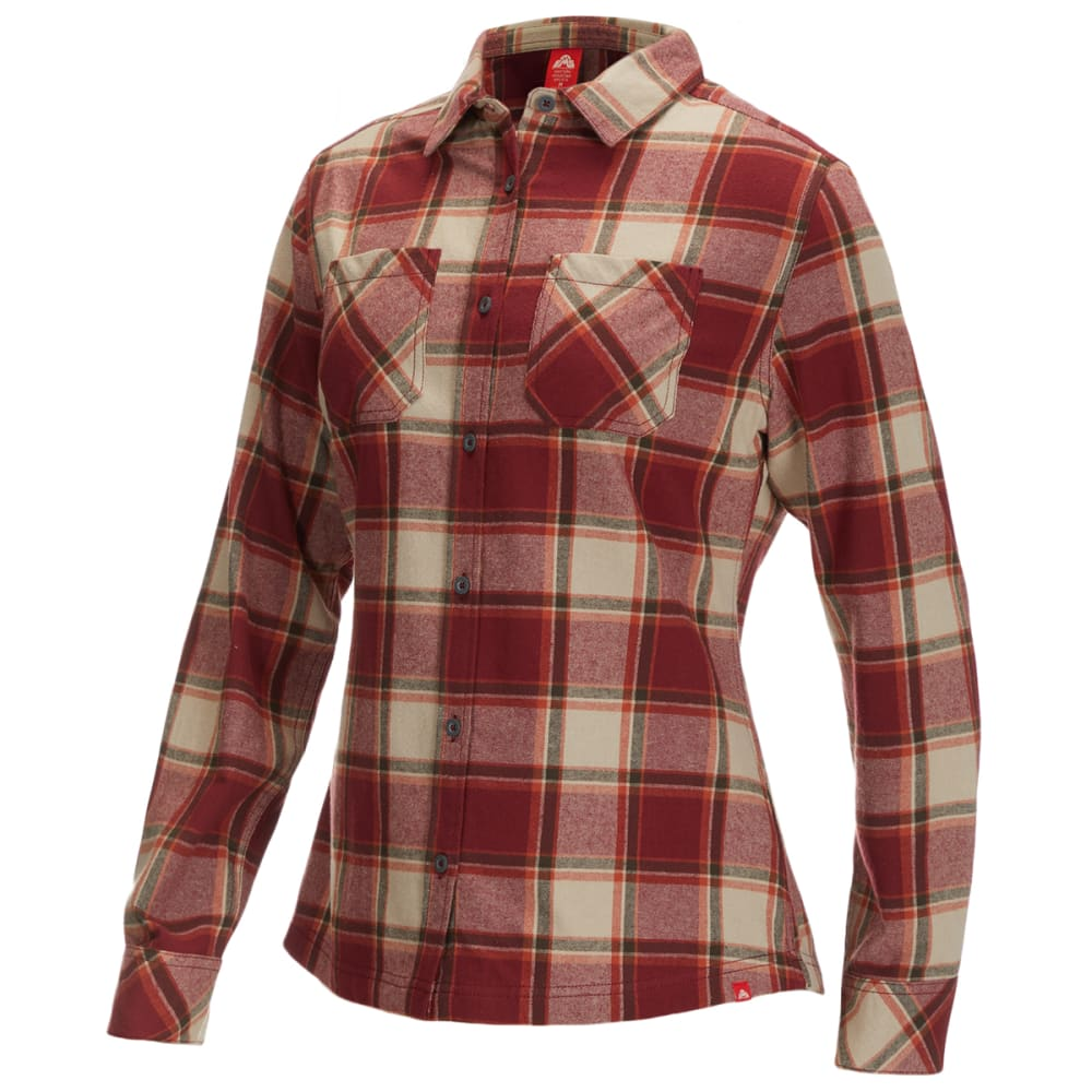 EMS Women's Timber Flannel Shirt S