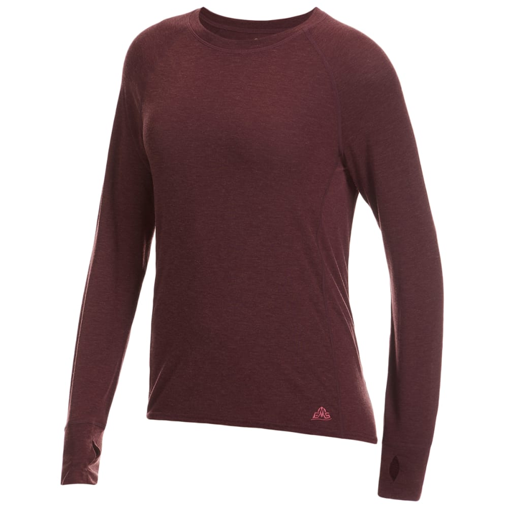EMS Women's Active Wool Long-Sleeve Top L