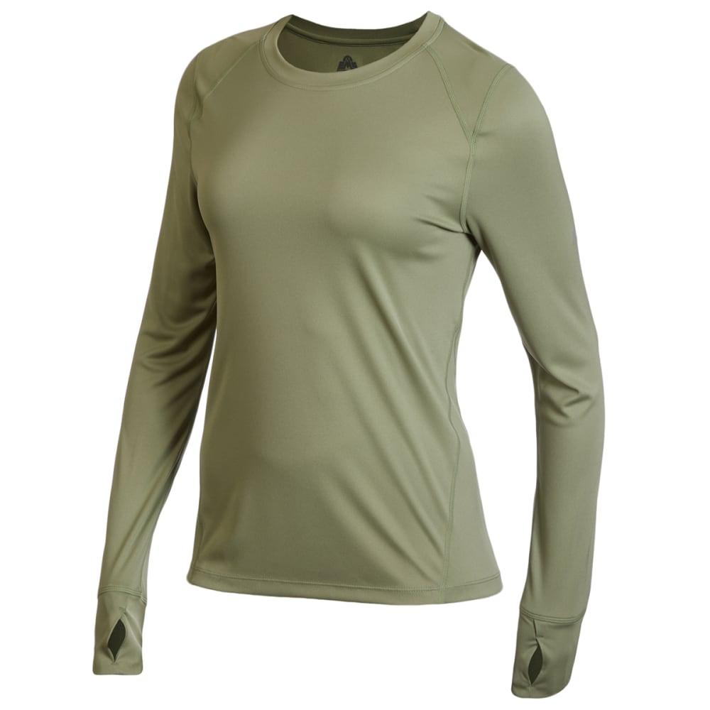 EMS Women's Lightweight Synthetic Base Layer Crewneck Shirt M