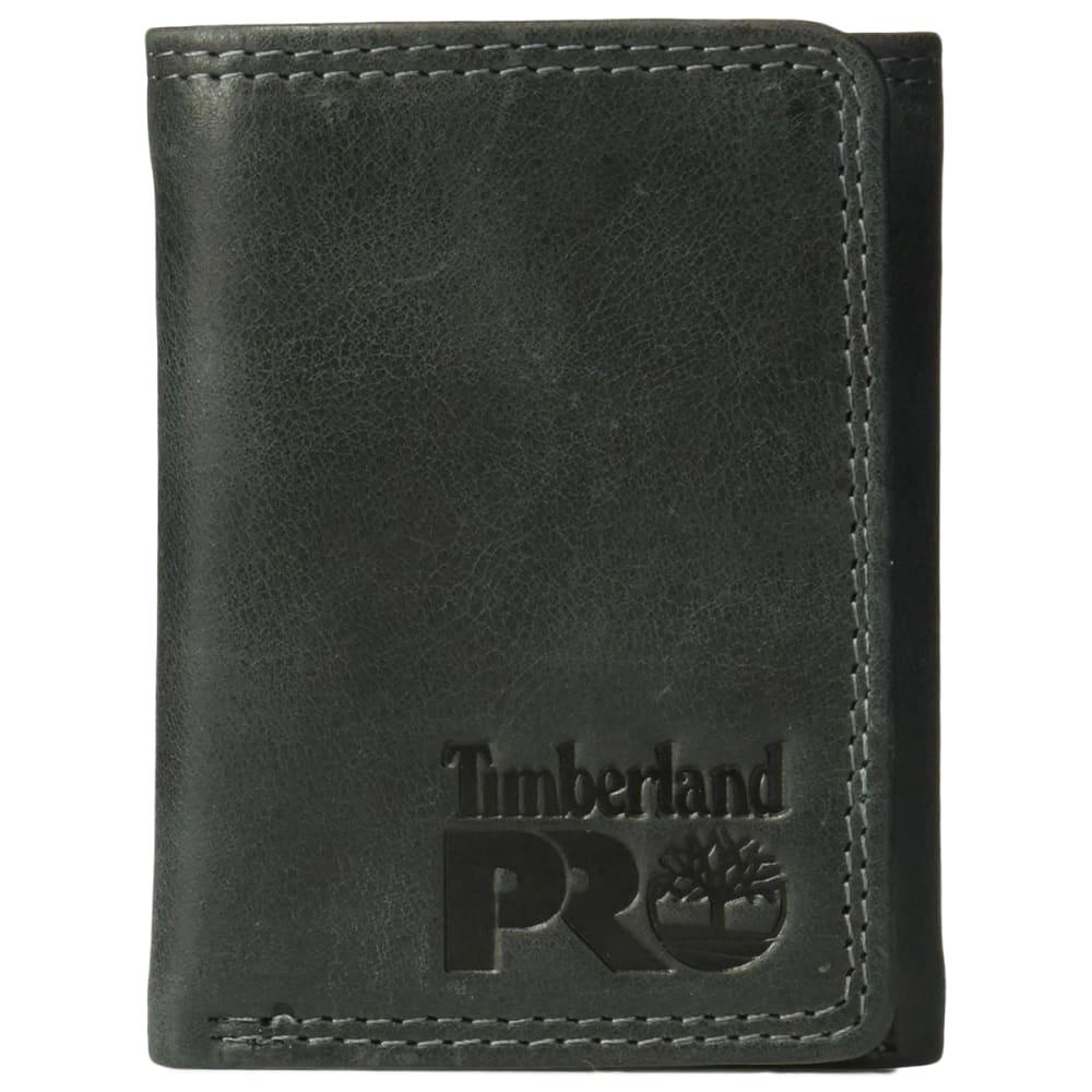 TIMBERLAND PRO Men's Trifold Wallet - BLACK