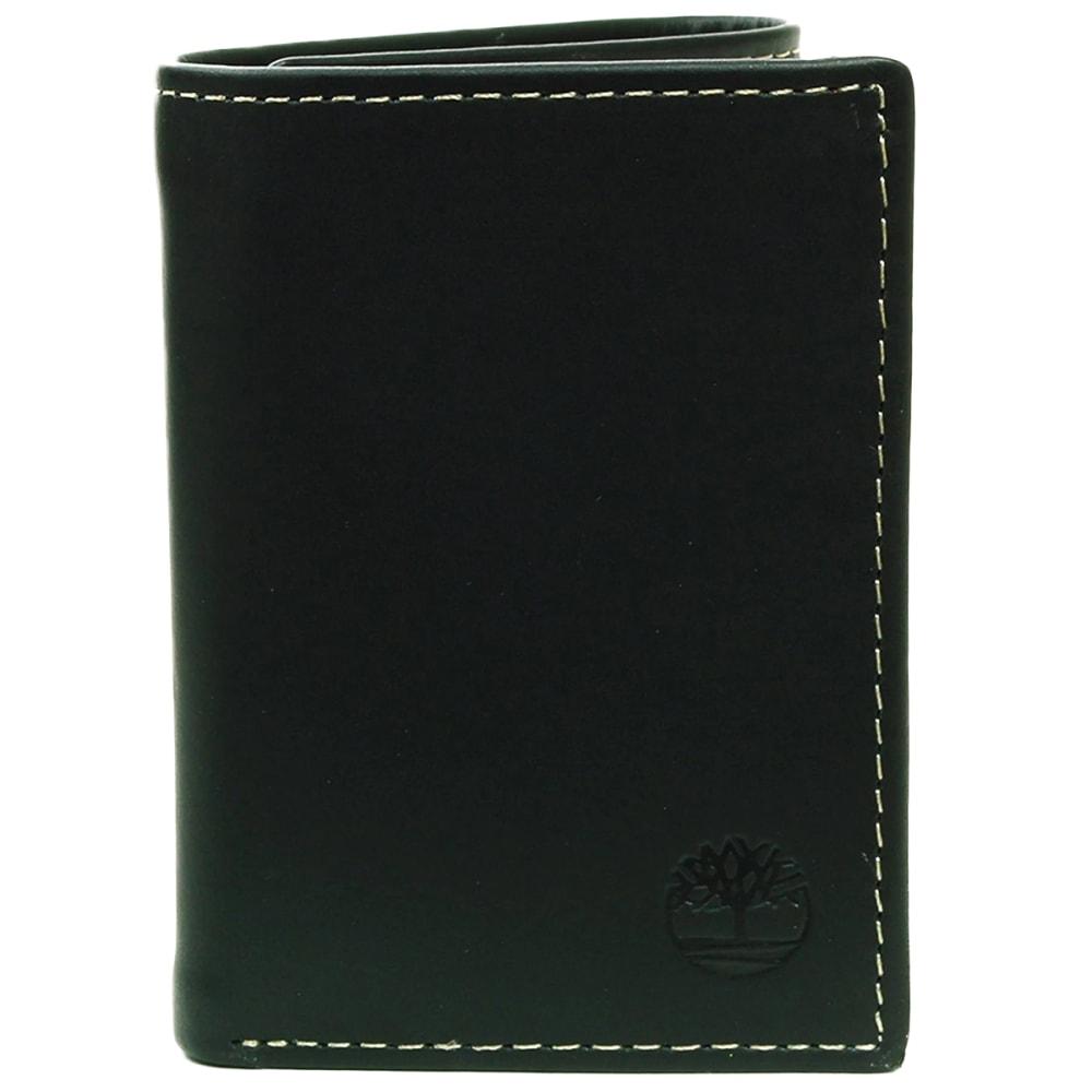 TIMBERLAND Men's Hunter Trifold Wallet - BLACK