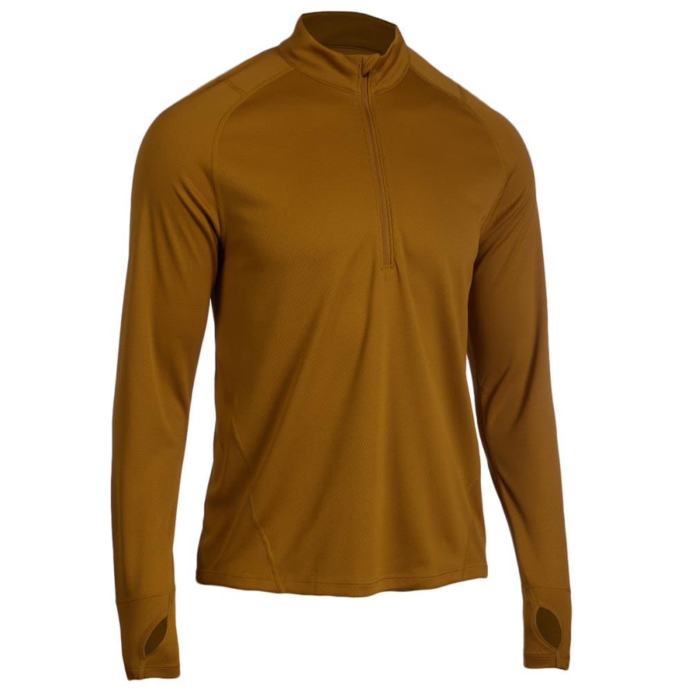 EMS Men's Techwick Medium Weight 1/4-Zip Synthetic Base Layer Top S