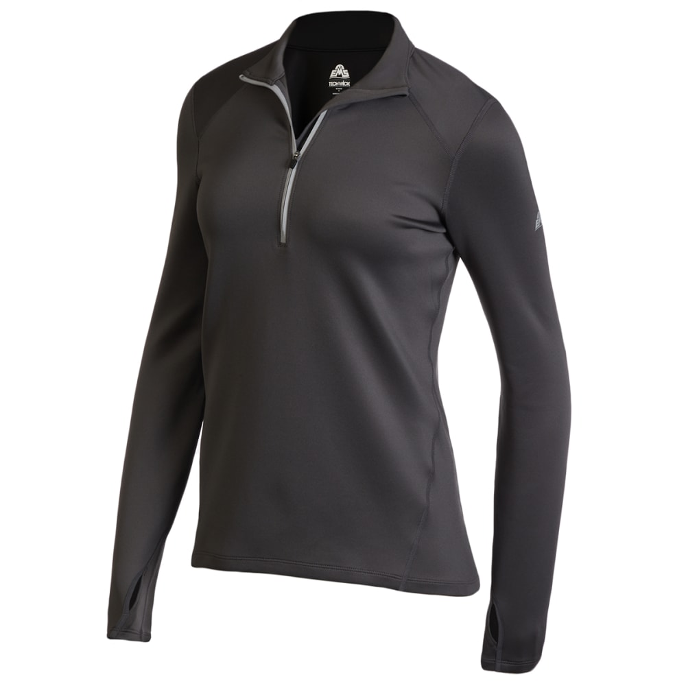 EMS Women's Heavyweight Synthetic Base Layer 1/2-Zip Pullover XS