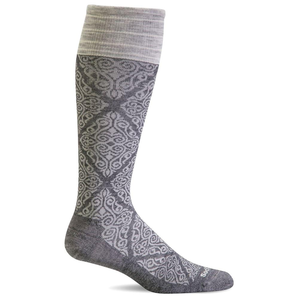 SOCKWELL Women's The Raj Graduated Compression Socks - CHARCOAL 850