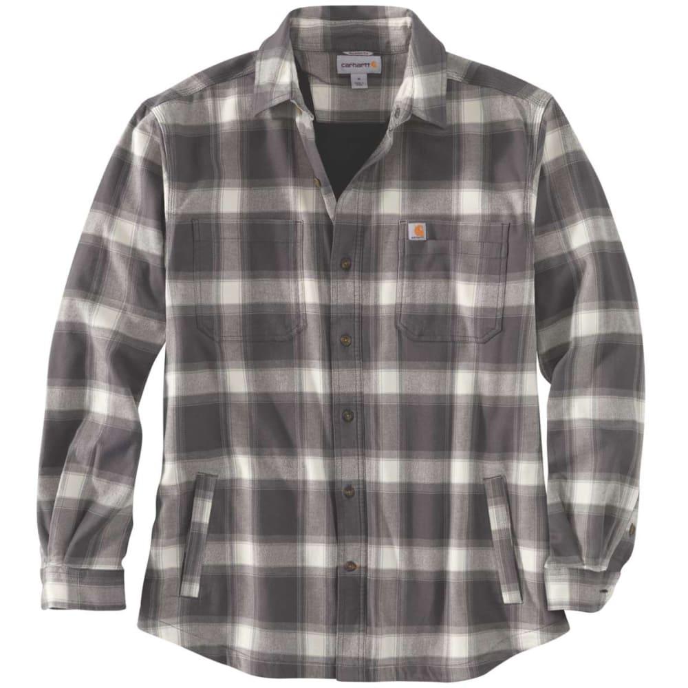 CARHARTT Men's Rugged Flex Fleece-Lined Flannel 2XL