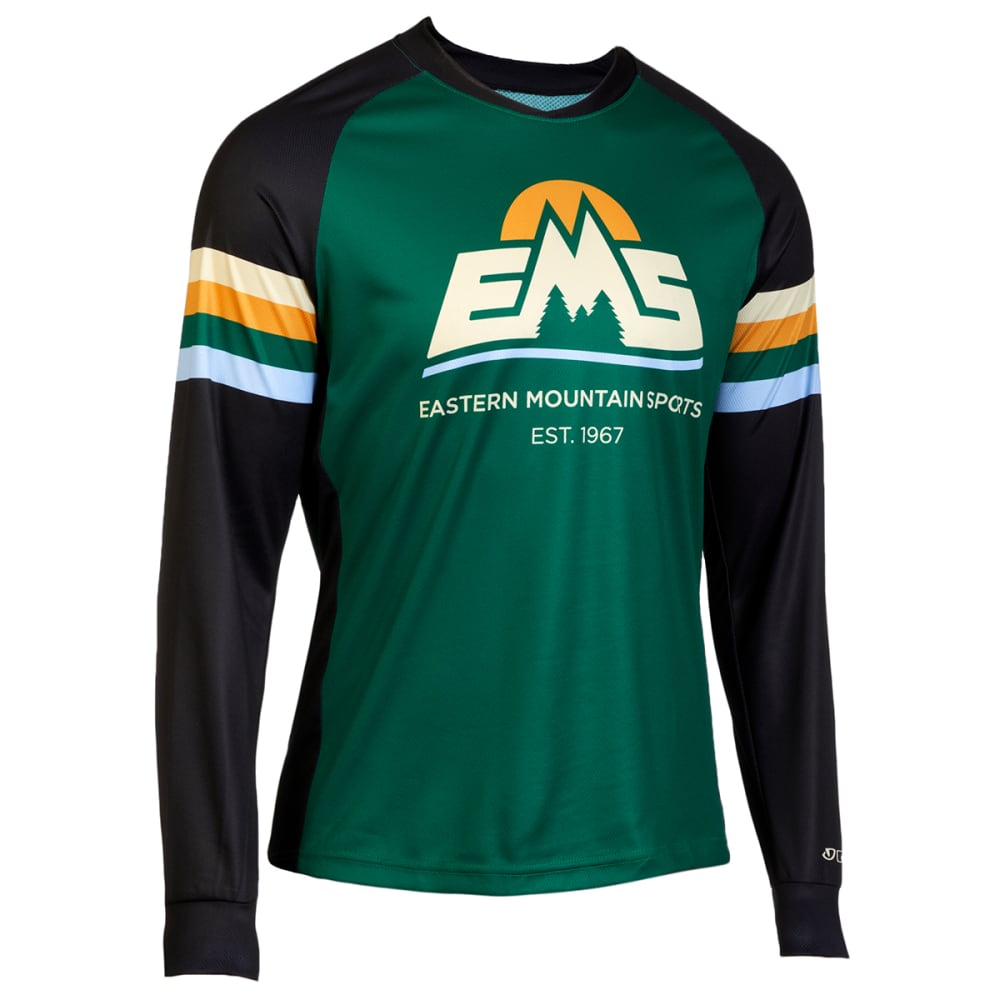 EMS Men's Roust Long-Sleeve Cycling Jersey L