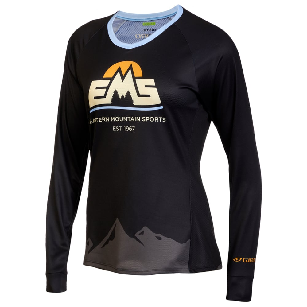 EMS Women's Roust Long-Sleeve Cycling Jersey 2XS