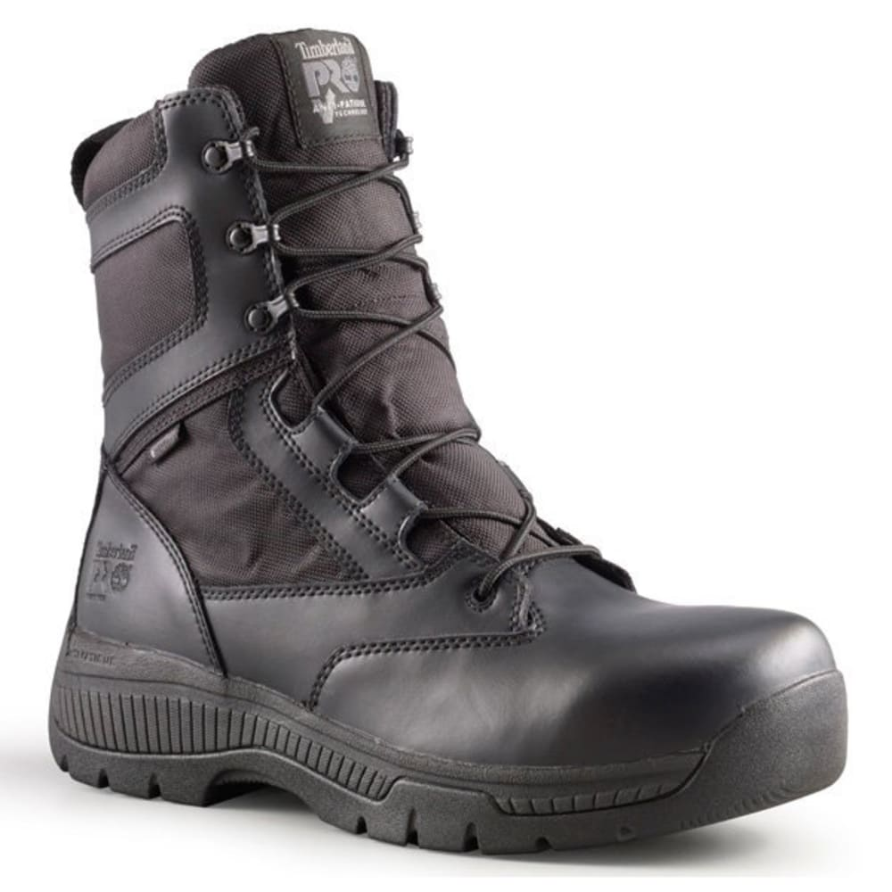 "TIMBERLAND PRO Valor Duty Soft Toe 8"" Boot - BLACK"