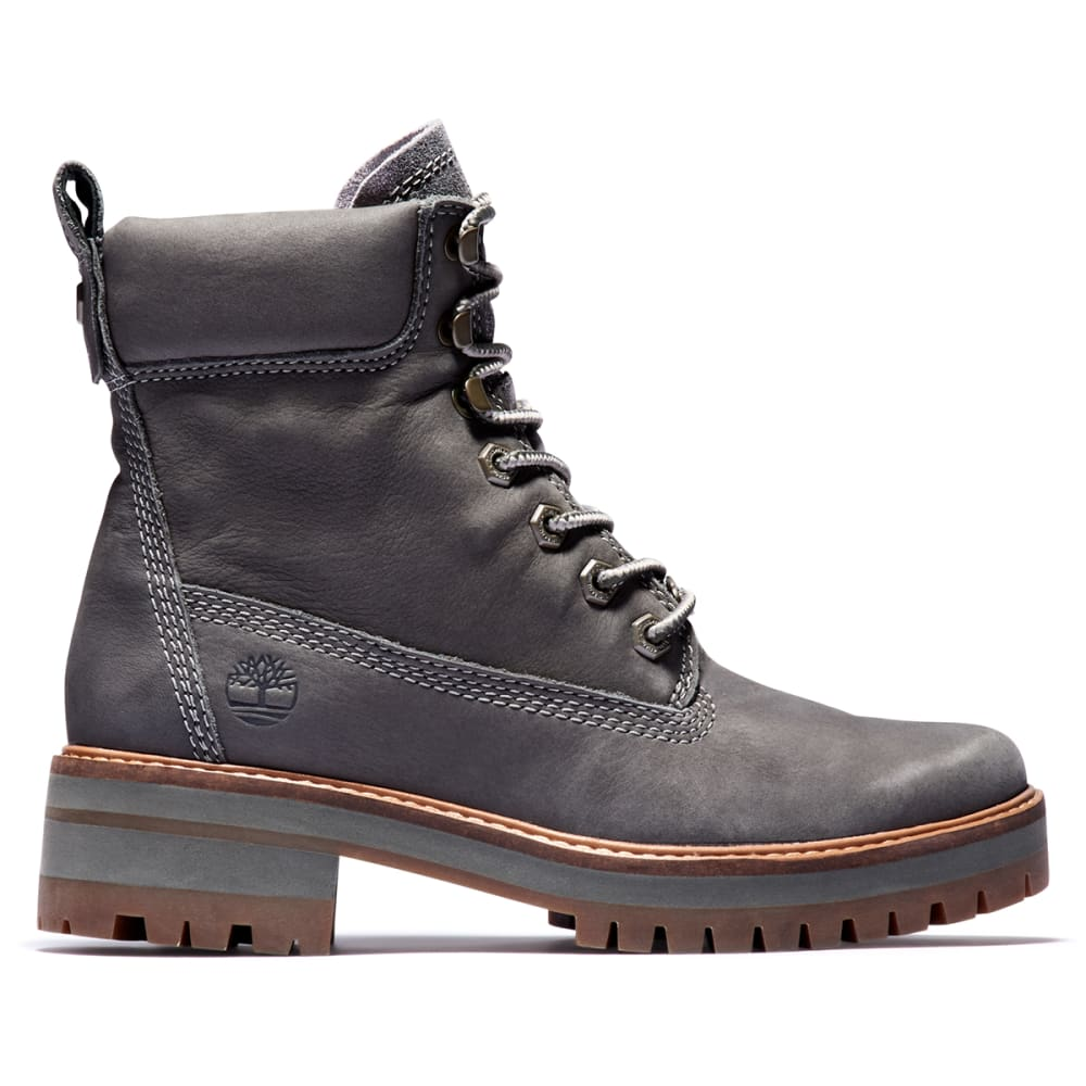"""TIMBERLAND Women's Courmayeur Valley 6"""" Boots - DK GRY"""