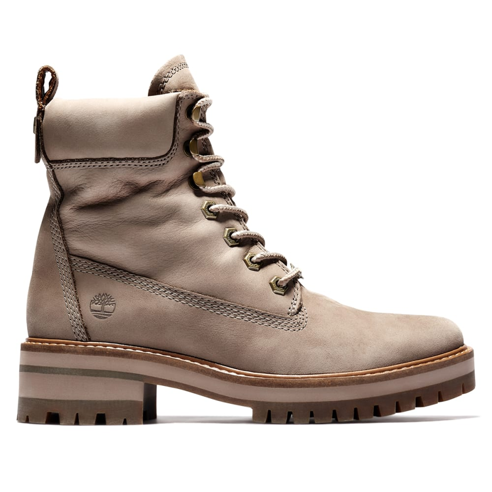 "TIMBERLAND Women's Courmayeur Valley 6"" Boots - TAUPE"