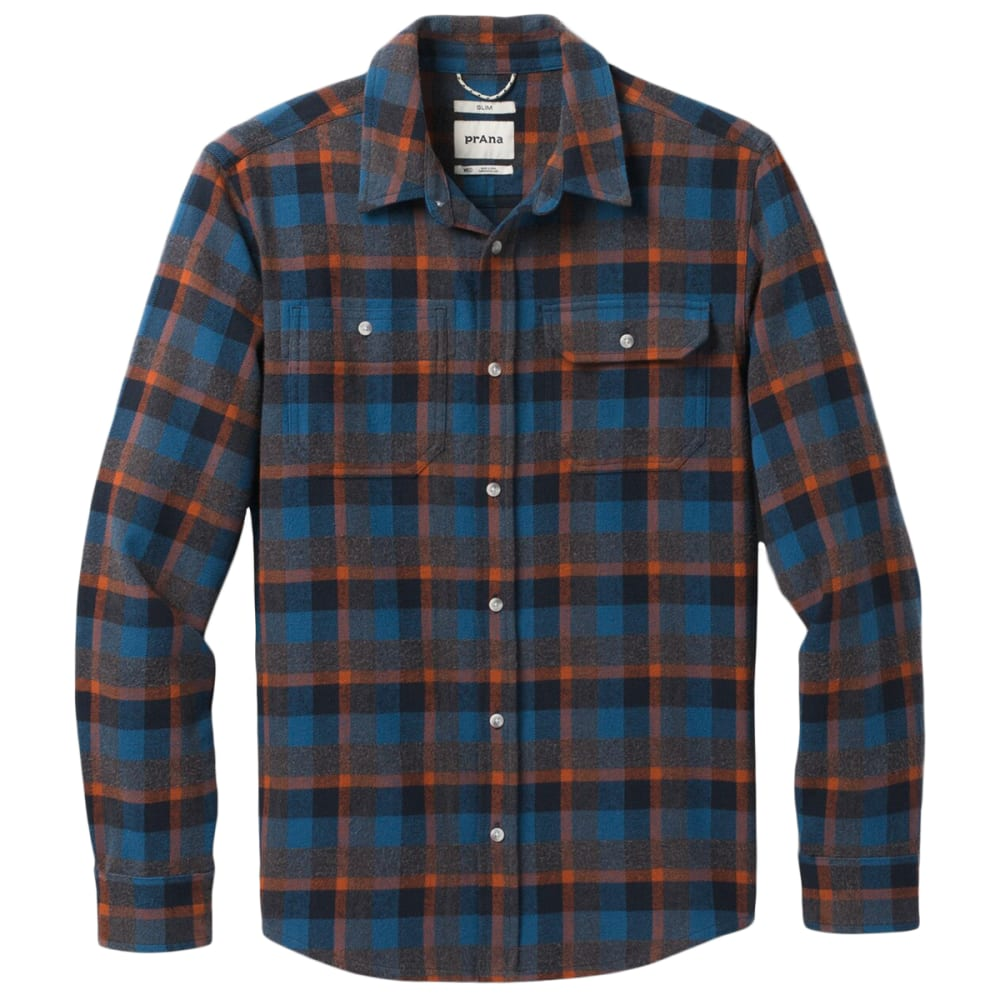 PRANA Men's Hatcher Flannel Shirt S