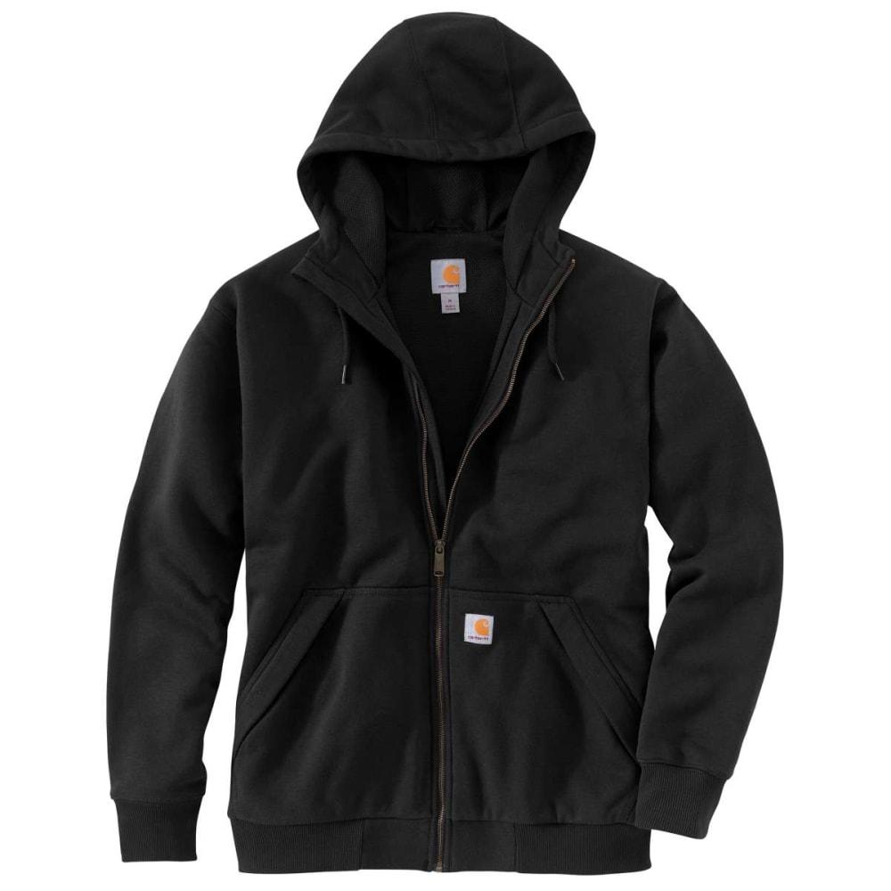 CARHARTT Men's Rain Defender Full Zip Thermal Hooded Sweatshirt L